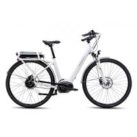 Steppenwolf Haller Wave  E2 CDX Electric Bicycle Step-Thru - White