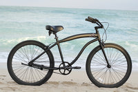 "Loco FG Cruiser 26"" The Centurion Matte Black frame with Matte Black Deep-V Rims"