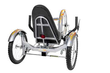 Mobo Triton Pro Silver Three Wheeled Cruiser