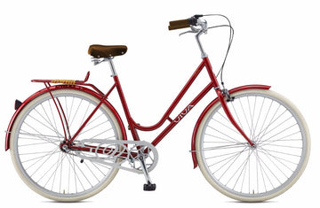 Viva Dolce Classic R.47 City Cruiser Bicycle - Red