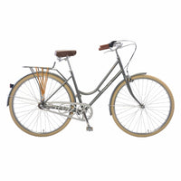 Viva Dolce Classic G.47 City Cruiser Bicycle - Metallic Grey