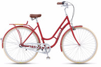 Viva Juliett Entry 3 R.47 City Cruiser Bicycle - Red
