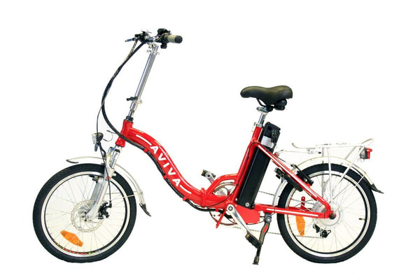 Aviva Viper Folding Electric Bicycle Electric Commuter Bike