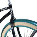 "Zycle Fix 26"" Paraiso Beach Cruiser Single-Speed Bike Black"