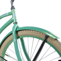 "Zycle Fix 26"" Paraiso Beach Cruiser Single-Speed Bike Mint"