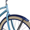 "Zycle Fix 26"" Paraiso Beach Cruiser Single-Speed Bike Misty"