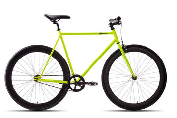 New Glow in the Dark Fixie Bike with Black Rims