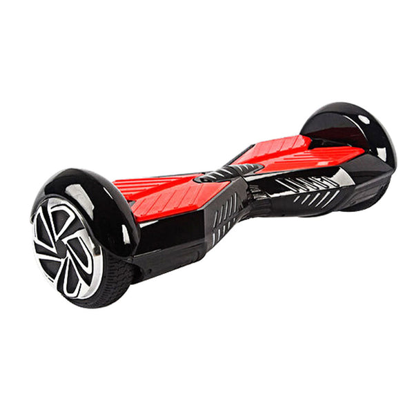 Smart Self Balance Scooter Bluetooth Black Red