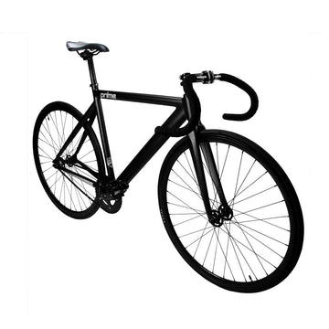 Zycle Fix Prime Alloy MATTE BLACK Fixie Fixed Gear Track Bike