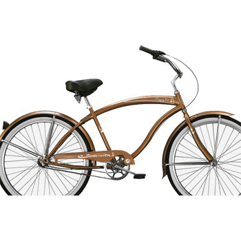 Brown Beach Cruiser