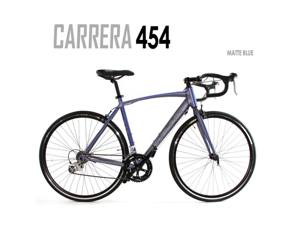 Carrera 454 16 Gear Road Bike Matte Blue Grey