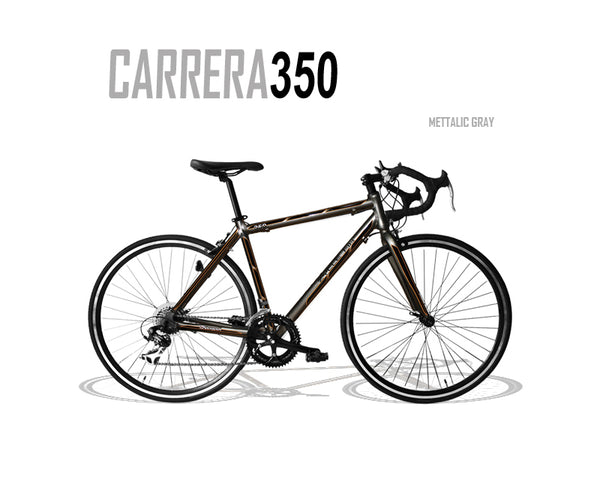 Carrera 350 Road Bike Metallic Grey