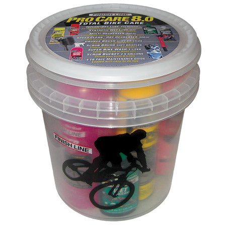 Finish Line Pro Care Bucket Kit 8.0