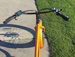 E-lux Tahoe Step Over Electric Fat Tire Bike Orange