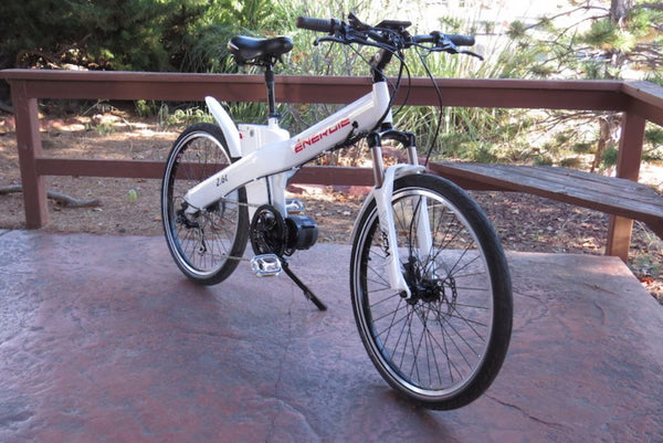 Energie Cycles 2.6td Electric Commuter Bike 500W Mid Motor 36V16Ah RED