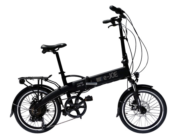 E-JOE Bicycles EPIK SE 2018 Folding Electric Bike BLACK