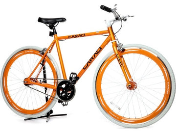 Caraci Fixed Gear Fixies F1.0 Orange White