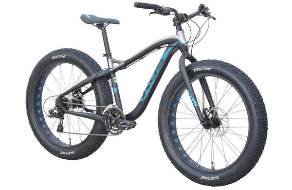 XDS Qattara Alloy Fat Tire Bike 24SP