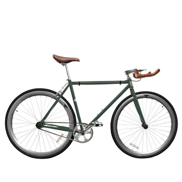 Zycle Fix Fixed Gear Bike Forest Green Fixie