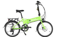 Enzo e-Bike Folding Electric Bicycle GREEN
