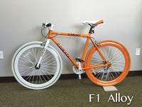 Orange White Caraci F1.0 Fixie