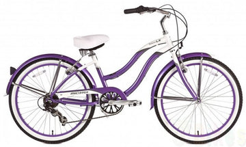 "Micargi Tahiti LX 24 "" 7 speed Women's Beach Bike Cruiser 24"