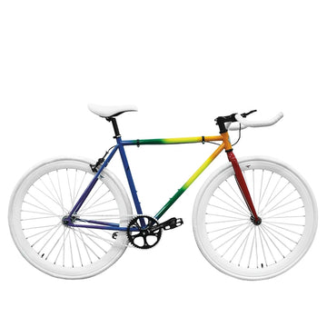 Zycle Fix Fixed Gear Bike Pride Pursuit Fixie