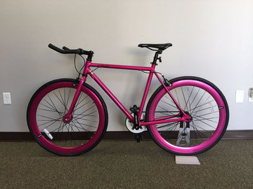Caraci Fixed Gear Fixies F1.0 Purple 48cm