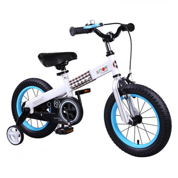RoyalBaby Buttons Blue 16 inch Kids Bicycle