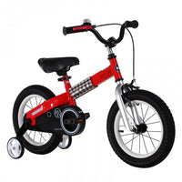 RoyalBaby Buttons Red 12 inch Kids Bicycle