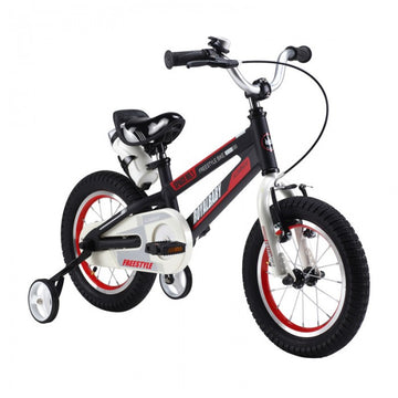 RoyalBaby Space No. 1 Black 18 inch Kids Bicycle