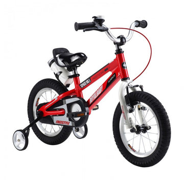 RoyalBaby Space No. 1 Red 14 inch Kids Bicycle