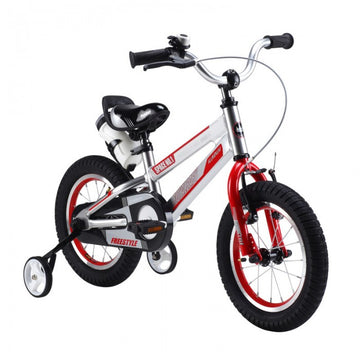 RoyalBaby Space No. 1 Silver 16 inch Kids Bicycle