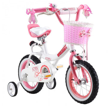 RoyalBaby Jenny Pink 16 inch Kids Bicycle