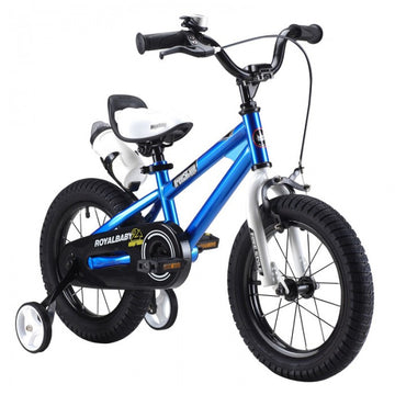 RoyalBaby Freestyle Blue 16 inch Kids Bicycle