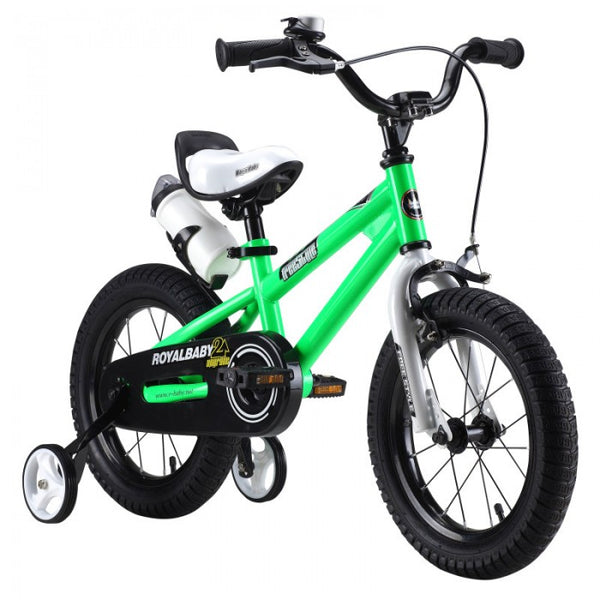 RoyalBaby Freestyle Green 14 inch Kids Bicycle