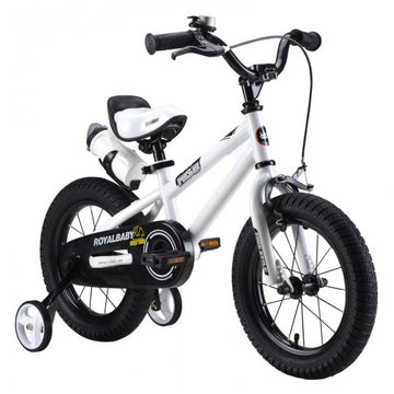 RoyalBaby Freestyle White 16 inch Kids Bicycle