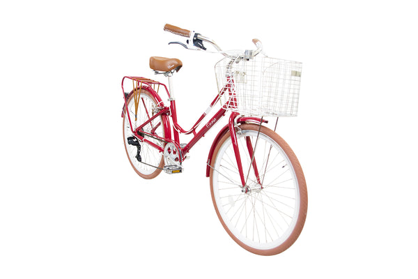Alton CLASSIC Comfort Bike - Rose Red