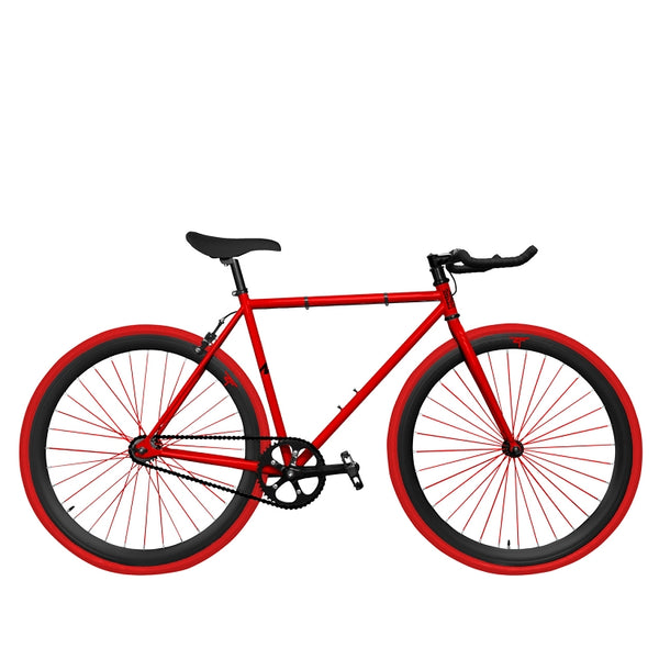 Zycle Fix Fixed Gear Bike Red Dragon Pursuit Fixie