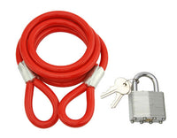 "Bicycle Cable Lock 48"" x 8mm"