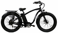 E-lux Tahoe Step Over Electric Fat Tire Bike Black