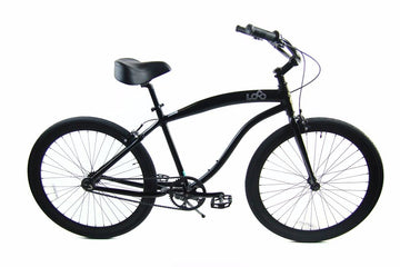 "Loco FG Cruiser 29"" The Centurion Matte Black frame with Matte Black Deep-V Rims"