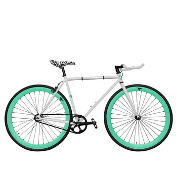 Zycle Fix Fixed Gear Bike Zebra Skies Pursuit Fixie