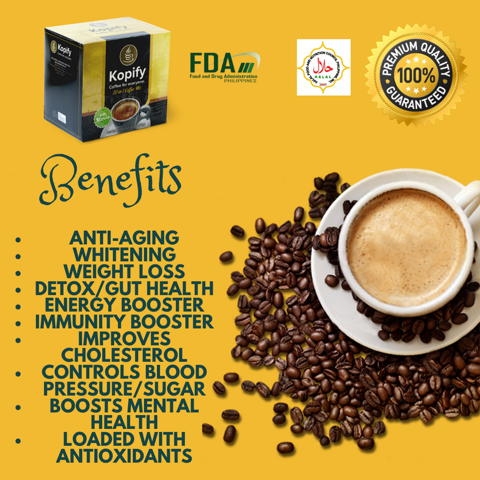 20-in-1 Immune Booster Coffee + MORE!