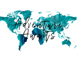 Adventure Awaits Green Watercolor Map Printable