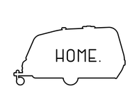 My Camper Is Home Printable Wall Art RV Decor
