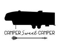 Fifth Wheel Camper Sweet Camper Printable