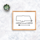 Travel Trailer Camper Sweet Camper Printable