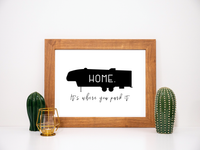 Fifth Wheel Home Printable RV Decor