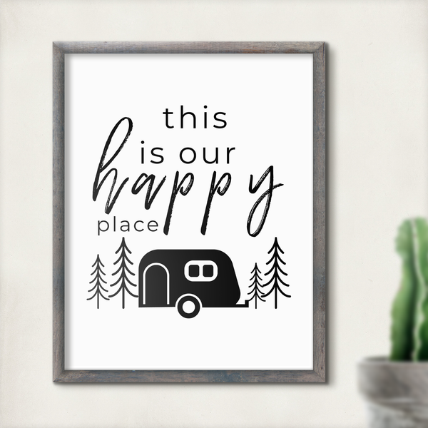 This Is Our Happy Place RV Printable Decor